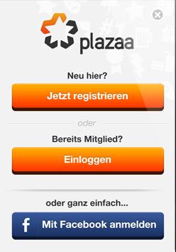 Anmelden - Phone App Vorschau