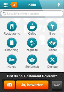 Homescreen - iPhone App Vorschau