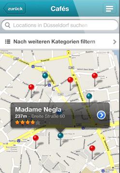 Umgebung - iPhone App Vorschau